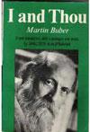 Buber, I Thou COVER2